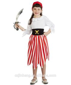 Halloween Party Pirate Costume For Girls