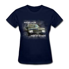 I don't really want this, but I really want this! Supernatural - Driver Picks The Music Impala t-shirt $18.40