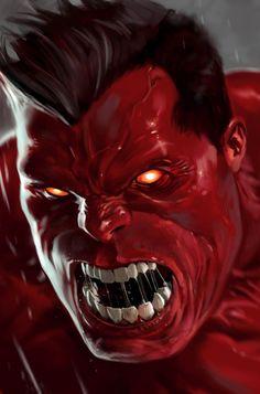 Red Hulk (Rulk) / Marko Djurdjevic