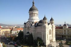 Orthodox Cathedral of Cluj Napoca, Romania Medieval Castle, Bucharest, Future Travel, Kirchen, Cathedrals, Historical Sites, Alps, Barcelona Cathedral, Countries