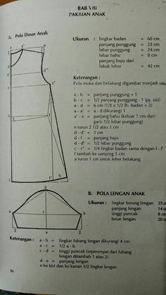 Pola dasar baju - Salvabrani