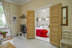 Myytävät asunnot, Jääkärinkatu 7, Helsinki #oikotieasunnot #makuuhuone #bedroom
