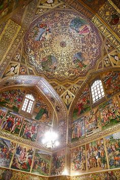 """Vank"" Church in Isfahan, Iran Iran Traveling Center irantravelingcent... #iran #travel #traveltoiran"