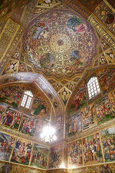 """""""Vank"""" Church in Isfahan, Iran Iran Traveling Center irantravelingcent... #iran #travel #traveltoiran"""