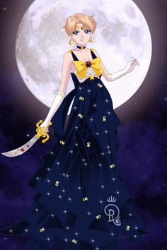 Sailor Moon Designer Collection - Sailor Uranus by IndigoFantasia on DeviantArt Sailor Moon Toys, Sailor Moon Manga, Sailor Neptune, Sailor Saturn, Sailor Moon Art, Sailor Moon Crystal, Sailor Venus, Darien Sailor Moon, Sailor Moom