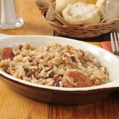 Easy Red Beans and Rice Casserole Recipe on Yummly