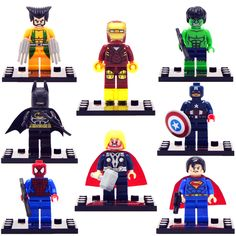 8pcs/lot movie Super Hero Avenger with Weapon Kid Baby Toy Mini Figure Building Blocks Sets Model Toys Minifigures Brick Nail That Deal http://nailthatdeal.com/products/8pcslot-movie-super-hero-avenger-with-weapon-kid-baby-toy-mini-figure-building-blocks-sets-model-toys-minifigures-brick/ #shopping #nailthatdeal