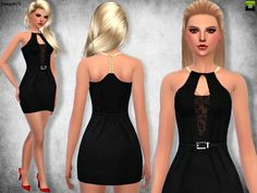 Margeh-75's Lace Halter Dress