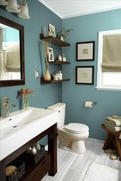...ndo para vocês as ideias que tenho para cada cômodo, começando pelos banheiros pequenos e charmosos que já separei e quero colocar em prática hoje mesmo!