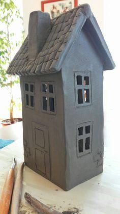 Sculpture, Outdoor Decor, Home Decor, Eyes, Elves, Birds, Little Cottages, Pottery, Bricolage