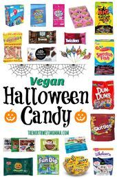 Vegan Halloween Candy Vegan Halloween Candy, Vintage Designs, Halloween Costumes, Collections, Food, Recipes, Rezepte, Food Recipes, Meals