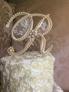 Hey, I found this really awesome Etsy listing at https://www.etsy.com/listing/198850144/custom-monogram-wedding-cake-toppers