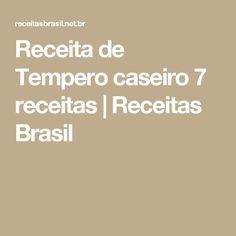Receita de Tempero caseiro 7 receitas | Receitas Brasil