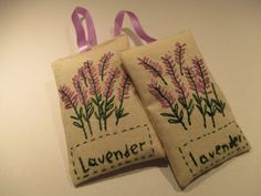 Lavender sachets gift set  with natural organic by Apopsis on Etsy