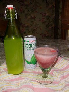 Strawberry Gingerade Coconut Kefir