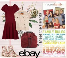 """""""Meet the Parents with eBay"""" by ignatia-anna on Polyvore"""