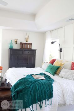 My Under $500 Master Bedroom Makeover - Southern Revivals