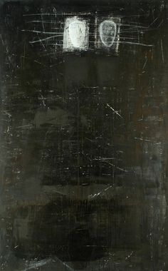 'Mythe' by Dutch artist Didi van der Velde via just another masterpiece Old Photo Texture, Art Texture, Abstract Expressionism, Abstract Art, My Art Studio, Black And White Painting, Dutch Artists, Artist Art, Dark Art