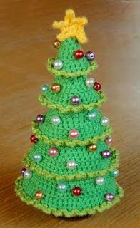 de Haakbaak: Cadeautje nummer 2: kerstboom patroon