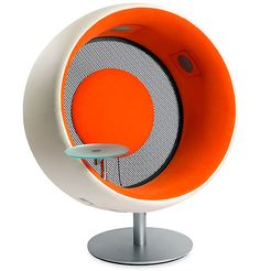 Futuristic Sofa-Chair with Audio Speaker by SONIC