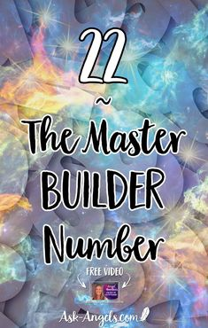 Learn why 22 in numerology is considered ~ The Master Builder Number. And what seeing 22 may mean for you! 22 Meaning, Sacred Meaning, Meaning Of Life, Angel Number Meanings, Angel Numbers, Spiritual Guidance, Spiritual Awakening, Loved One In Heaven, Number 22