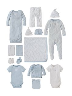 Sky Blue 15 Piece Set by Burt's Bees Baby