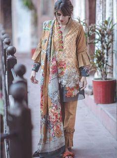 Cross Stitch sunset Bronze is part of Pakistani dresses casual - Beautiful Pakistani Dresses, Pakistani Formal Dresses, Pakistani Fashion Casual, Pakistani Dress Design, Pakistani Outfits, Pakistani Clothing, Pakistani Couture, Stylish Dresses For Girls, Stylish Dress Designs