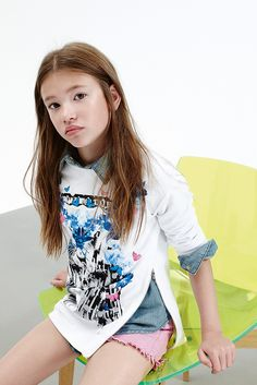 Kid's Wear - Pinko Up SS 2015 Kind of dressed myself today! Tween Girls fashion Kids Clothing