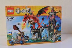Set de Lego Castle La Montaña del Dragon 70403