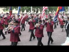muziekkorpsen uit verschillende landen waaronder ook Nederland