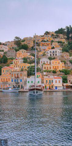 Beautiful Symi island, Greece