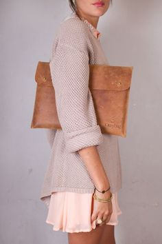 knit sweater. Street women fashion outfit clothing stylish apparel @roressclothes closet ideas