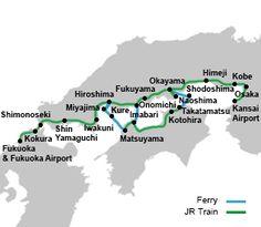 Setouchi Area Pass | Japan Rail Pass