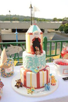 adorable carnival cake
