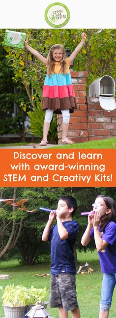 Monthly STEM and Creativity Kits for kids delivered to your door with all the supplies you need included. Save 25% on your 1st month with code PINTEREST25! Offer available through May 30!