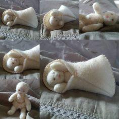 Newborn doll nativity doll wool felt doll soft doll role play gift for girls Christmas doll waldorf toys eco gift naturalgift wet felting Wool Dolls, Felt Dolls, Small Cute Babies, Kindergarten, Felt Gifts, Cute Baby Dolls, Natural Toys, Boutique Bows, Little Doll