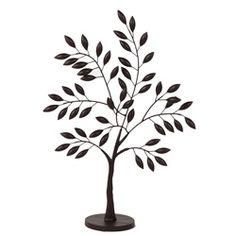 Small Metal Olive Tree