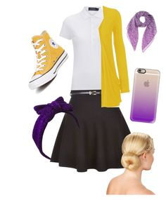 """""""SMOD"""" by janecatfish ❤ liked on Polyvore featuring Polo Ralph Lauren, New Look, WearAll, Converse, Bottega Veneta, Beauxoxo and Casetify"""
