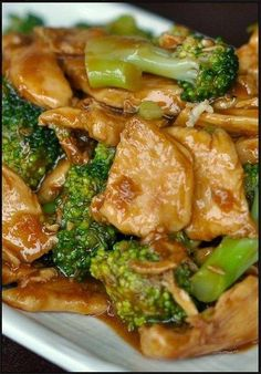 love this served over rice or pasta. Chicken and Broccoli Stir Fry |