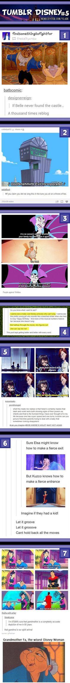 Tumblr Disney #5: