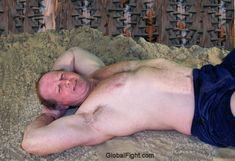 musclebear dad beach guys