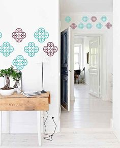 Wall Moroccan Pattern Vinyl Decal Set of 40 Home by FabDecals, $35.00