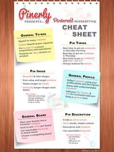 Pinterest cheatsheet