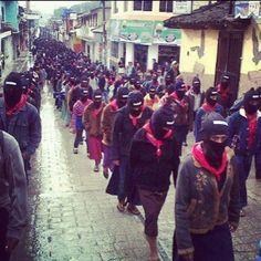 20 mil zapatistas se manifiestan, a 15 años de la masacre de Acteal