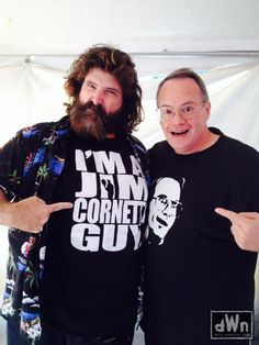 New Photo of Mick Foley and Jim Cornette Together http://dailywrestlingnews.com/?p=78878