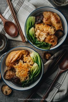 The Best Clay Pot Chicken Rice (鸡肉煲仔饭)