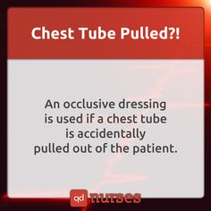 Do you know what an occlusive dressing is? --- Visit http://qdnurses.com/qdmemes…