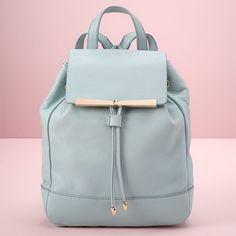 LC Lauren Conrad Runway Collection Leather Backpack