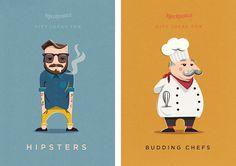 KRINGLE CHARACTERS - Jimmy Gleeson Design
