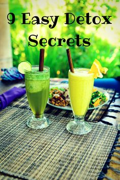 9 Detox Tips  Do you feel sluggish? Do you want to lose a few pounds? Try these 9 tips.